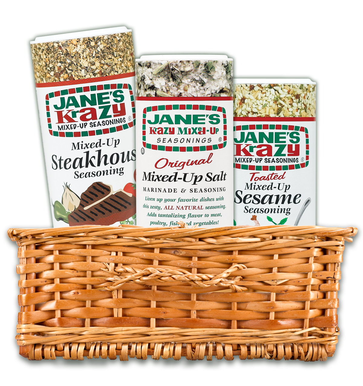 jane's krazy product basket